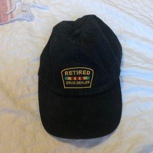 Vintage Retired Drug Dealer Hat